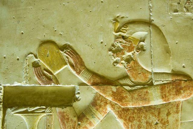 古代エジプトでもワインが飲まれていました