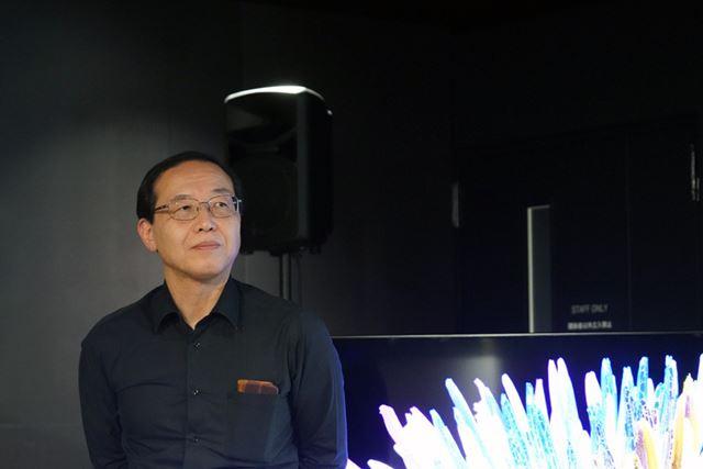 REGZAシリーズの画質設計を担当する住吉肇氏