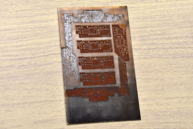 ナイトライダーのプリント基板