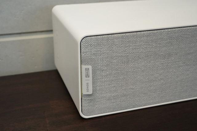 Sonosとイケアのロゴが並ぶ
