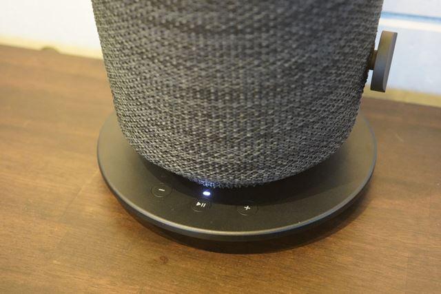 テーブルランプ型は下向きスピーカーで360度に音を鳴らす形のようだ