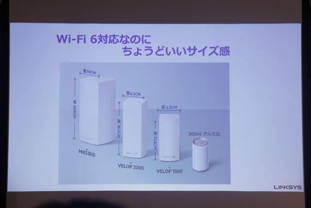本体サイズは114(幅)×114(奥行)×244(高さ)mm、重量は1.59kg