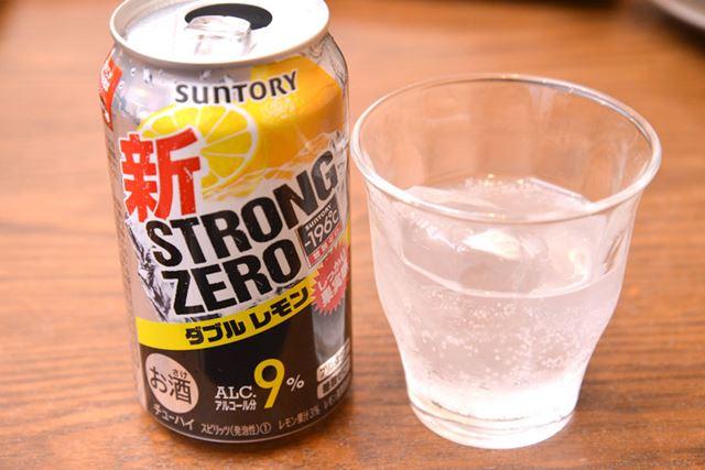 甘味と酸味の好バランスのほか、レモン感もしっかりしているので、高アルコール度数でも飲みやすい!