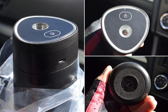 350mlの缶1本分ぐらいのサイズ感。デザインや質感も悪くありません