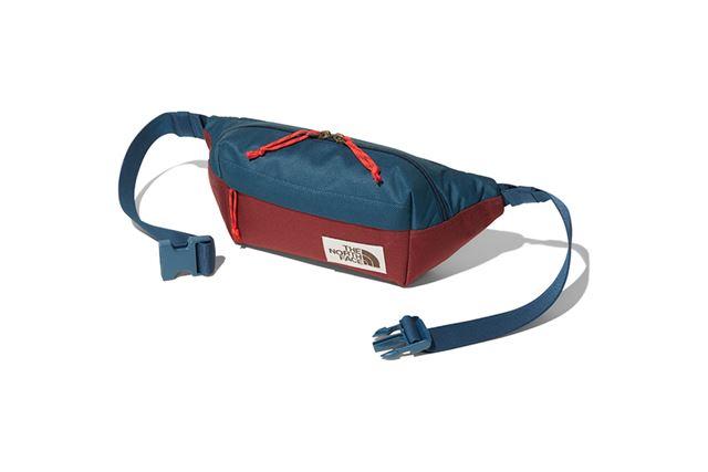 環境に配慮された「100%リサイクルポリエステル」を使用したウエストバッグ