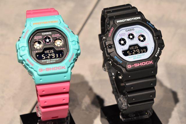 左が「DW-5900DN-3JF」で右が「DW-5900DN-1JF」。どちらも12,100円
