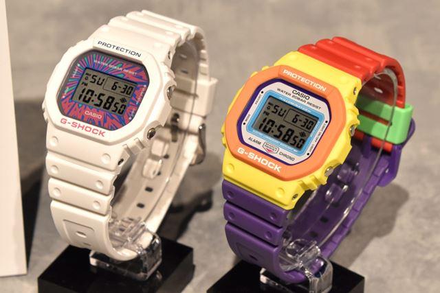 左が「DW-5600DN-7JF」(12,100円)で、右が「DW-5610DN-9JF」(14,300円)