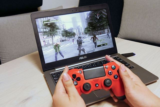 Windows搭載PCでも「PS Now」を遊べますが、快適に遊ぶにはある程度の高速回線が必要です