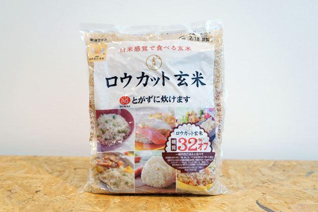 白米と比べて玄米はビタミン、ミネラル、食物繊維が豊富で栄養価も高い