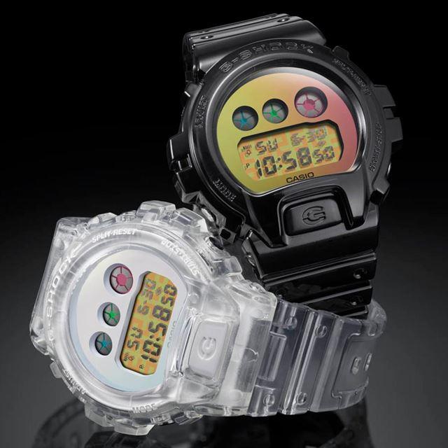 左が「DW-6900SP-7JR」で、右が「DW-6900SP-1JR」(各15,400円)