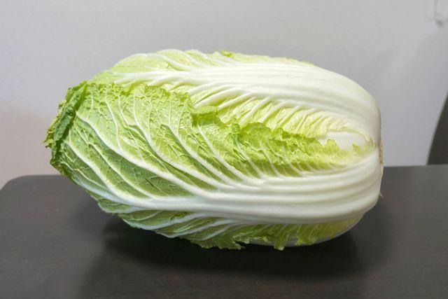 漬物の定番、白菜で!