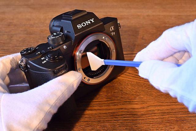 比較的格安なセンサー清掃ツールとして人気の高いクリーニングスワブ