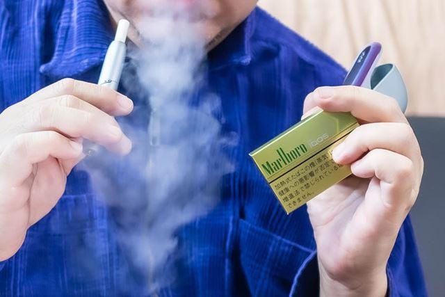 メンソールとリモネン臭の合わせ技で、アイコス臭が軽減されている!