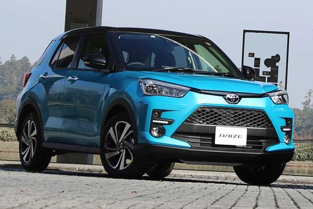 2020年1月、2月と2か月連続で、小型・普通車の販売ランキング1位を獲得した、トヨタの新型SUV「ライズ」