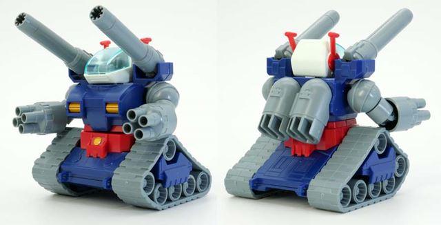 「SDガンダムBB戦士No.221ガンタンク」は2001年発売