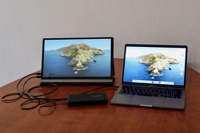 電源にはUSB-PD対応モバイルバッテリーを利用できる(写真はRAVPower RP-PB059)