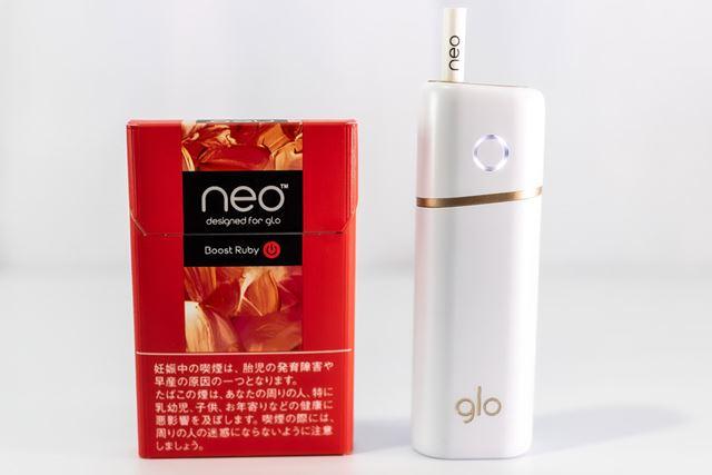 カプセルメンソールでアロマ感強く、500円(税込)。デバイスは軽快さが特徴の「グロー・ナノ」