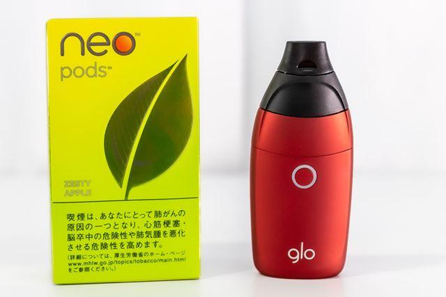 限りなくアロマテラピーに近いタバコ製品。専用の「ネオ・ポッド」は500円(税込)