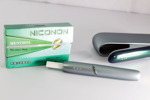加熱式タバコユーザーに人気の「メンソール」