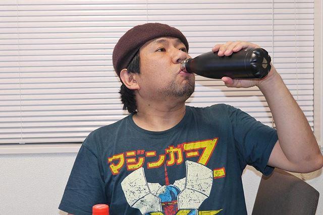 いっぽう、「フラスクボトル」は微炭酸くらいのシュワシュワ感!