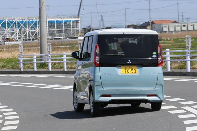 三菱「eKスペース」の試乗イメージ