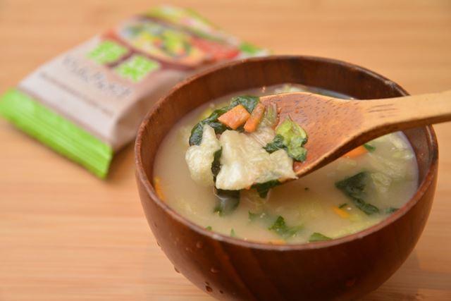 野菜は食感だけでなく、みずみずしく甘みのあるダシ感を加えているようにも感じます
