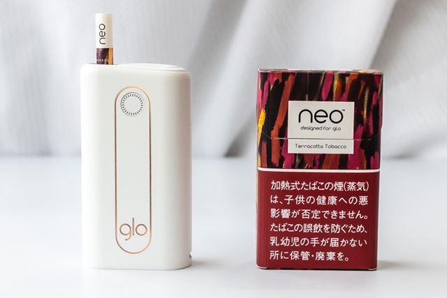 ニオイはあるけれど気になりにくい「ネオ・テラコッタ・タバコ・スティック」500円(税込)