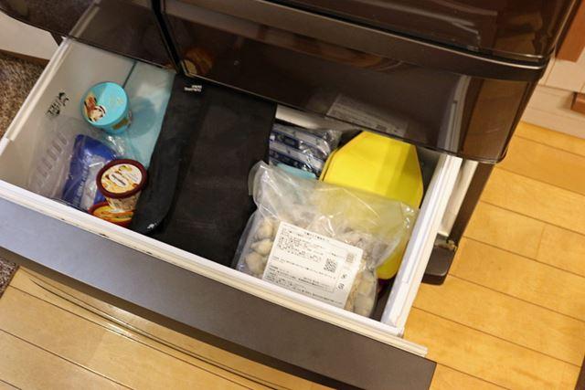 すぐには食べない時は、冷凍室にいれておけば1か月くらい保存しておけます