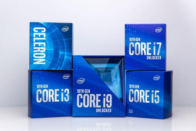 デスクトップ向け第10世代Coreプロセッサー