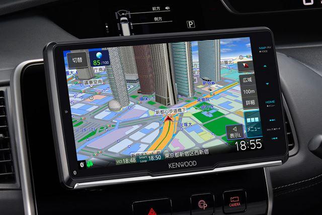 彩速ナビ初の「フローティング機構」を備えた新モデル「MDV-M907HDF」
