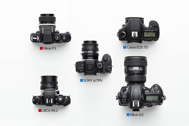 5つのカメラ、赤と青の違いとは……?