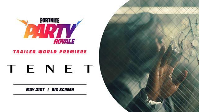 クリストファー・ノーラン監督の映画最新作「TNET」の予告編がフォートナイトでプレミア上映