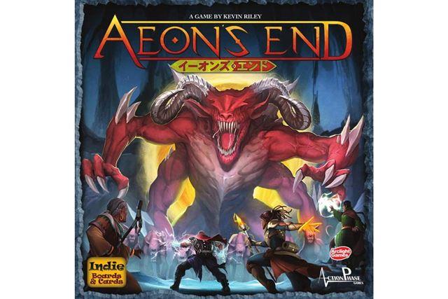 「イーオンズ・エンド 完全日本語版」は、デッキ構築型の協力ゲーム。ソロプレイの評価も高い