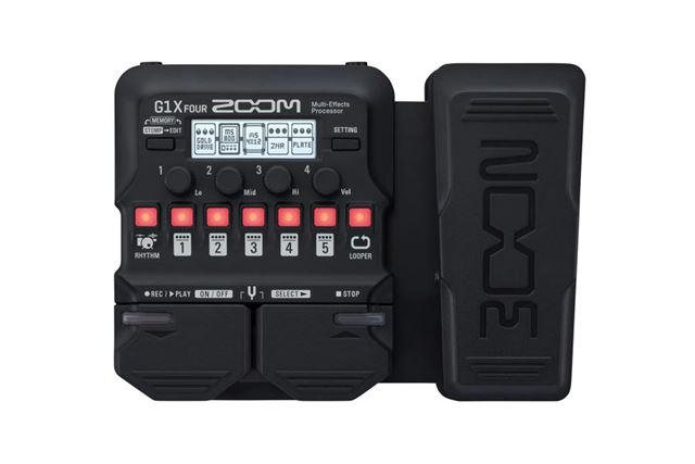 ZOOMのマルチエフェクター「Multi-Effects Processor G1X FOUR」