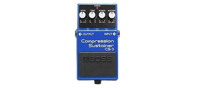BOSSの「Compression Sustainer」