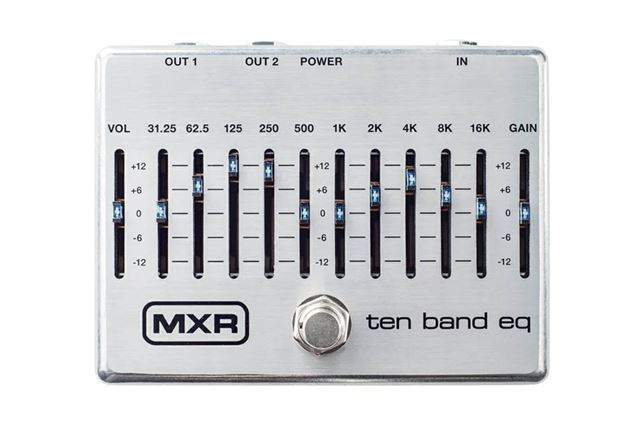 MXRの「M108S 10 Band Graphic EQ」