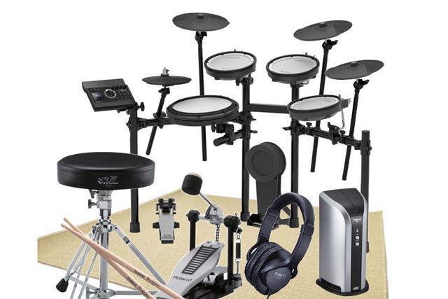 ちなみに電子ドラムは、防振・防音マット付きで販売されている場合もあります