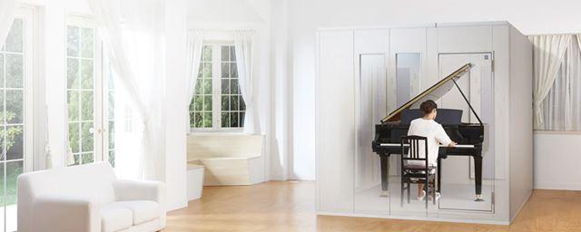 室内に導入できる定型タイプの防音室