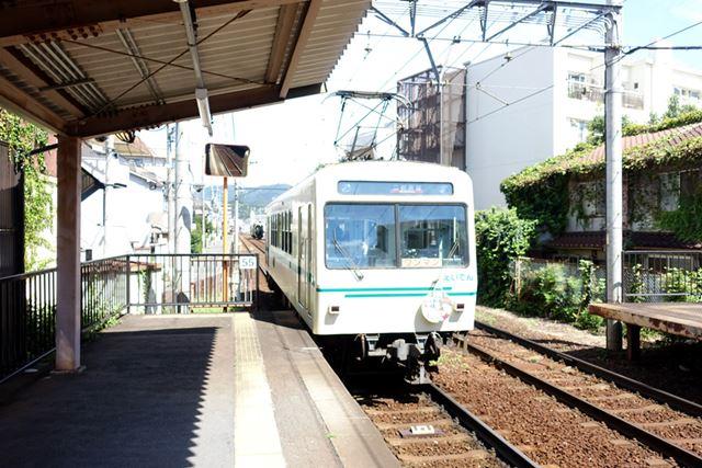 叡山電鉄に乗って……