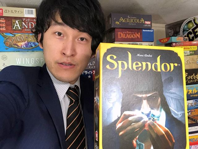 相方の草薙さんが初めて体験した海外ボードゲーム「宝石の煌き」