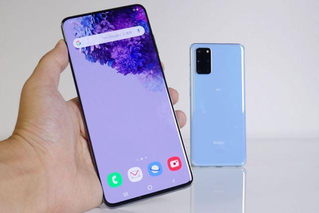5Gスマートフォンの最有力、「Galaxy S20+ 5G」をレビュー