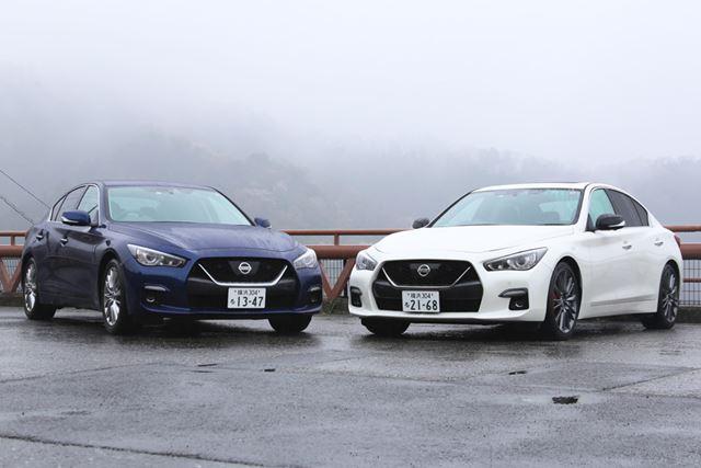 画像は、左が「V6ターボ」で右が「400R」