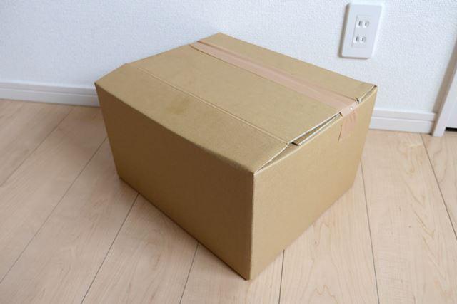 ジャストサイズの段ボール箱を簡単に作ることができました