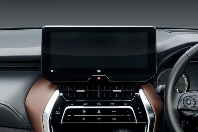 トヨタ 新型「ハリアー」に標準装備されている「ディスプレイオーディオ」