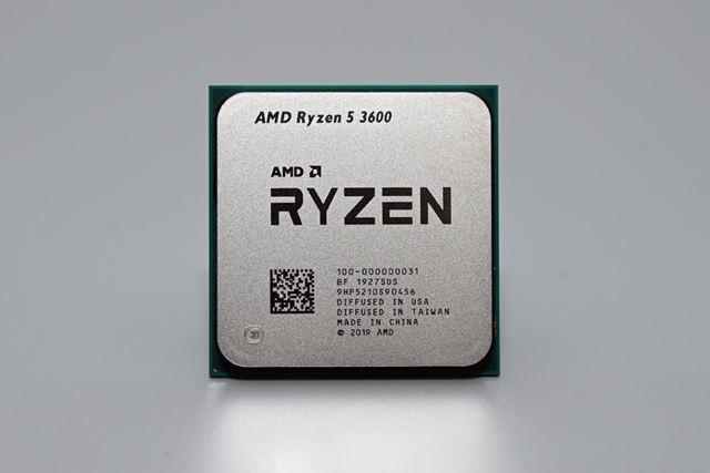組み合わせたCPUは、価格.comでも人気の高い「Ryzen 5 3600X」