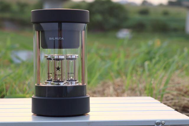 これが、白物家電でおなじみのバルミューダが開発したBluetoothスピーカー!