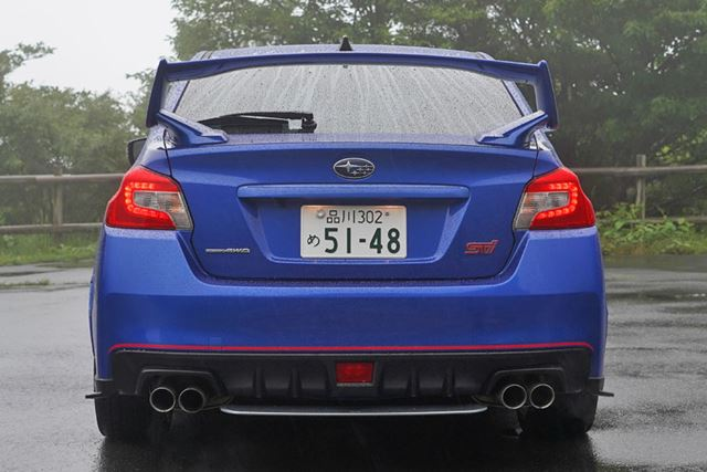 WRX STI EJ20 Final Edition リア