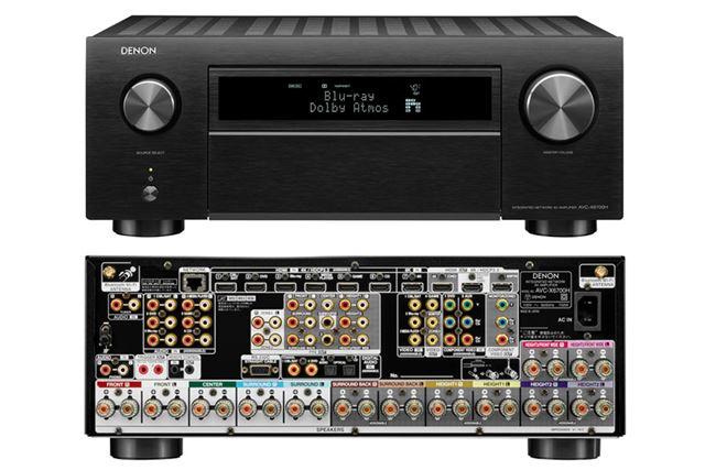 上位モデルのAVC-X6700H。メーカー希望小売価格は330,000円(税別)で、2020年8月下旬発売