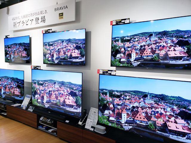 スポーツイヤーとして数多くのモデルが登場した2020年夏の薄型テレビ