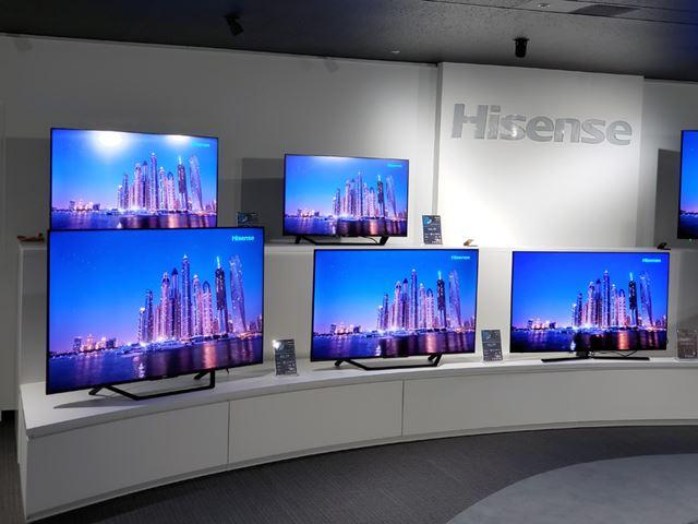 中国メーカーのハイセンスの躍進で定着した10万円以下の4Kテレビ